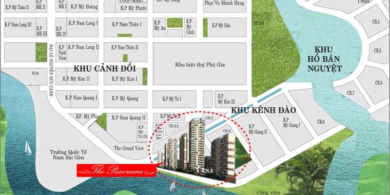 Cho thuê Shop Panorama Phú Mỹ Hưng