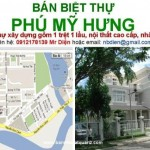 Bán biệt thự Phú Mỹ Hưng Quận 7