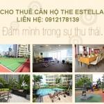 Cho thuê căn hộ The Estella An Phú quận 2