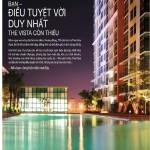 Bán căn hộ The Vista 2 PN view hồ bơi đủ NT giá 3,2 tỷ