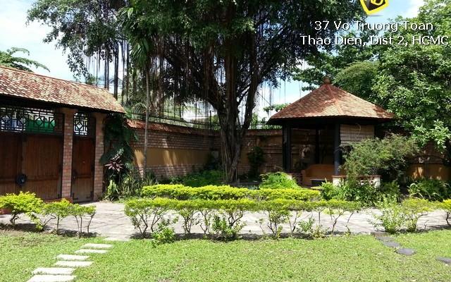 Villa Thao Dien go cho thue (4)