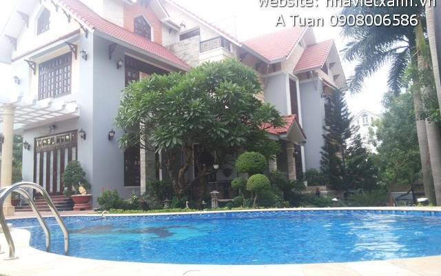 Cho thuê biệt thự đẹp mặt tiền Nguyễn Văn Hưởng