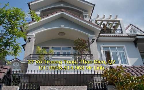 Cho thuê biệt thự đường Lương Định Của Quận 2