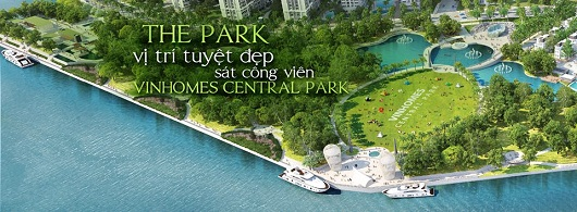 Park Paroma tần nhìn toàn cảnh Vinhomes Central Park