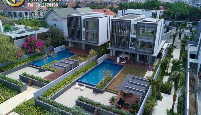 Biệt thự Holm Thảo Điền ven sông Saigon