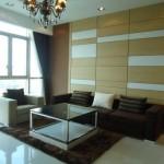 Cho thuê căn hộ The Vista:142m có 3 phòng ngủ,NTCC, view sông,giá 1500$/th.